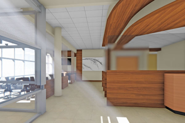 Sioux Center Health Main Entrance | Growing Community Capital Campaign | Registration or Apply
